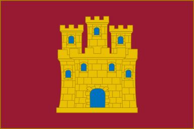 Bandera de Castilla según la Alianza