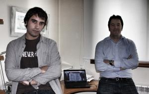 Luis Jiménez (izq.) y Fernando Sierra (der.)