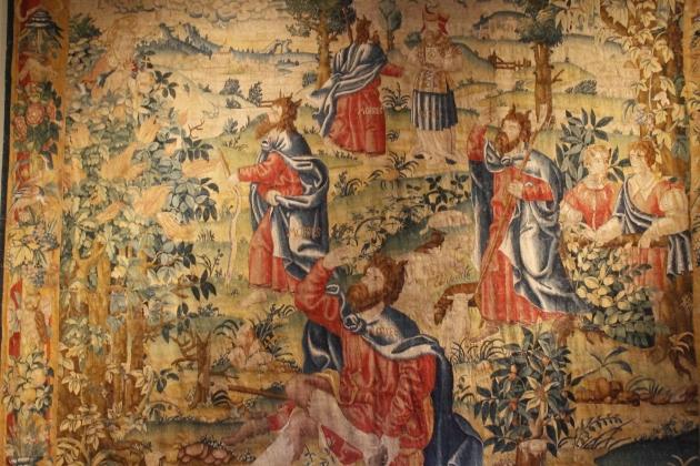 Moisés y sus clones en el campo buscando níscalos