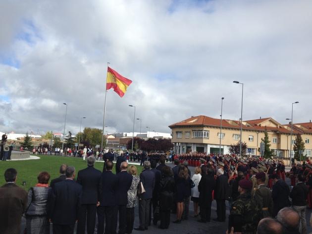 Bandera_de_España_en_Ávila