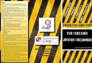 Bases Certamen Jóvenes Creadores Ávila